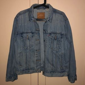 Levi's Ex Boyfriend Tucker Jacket in Medium Wash